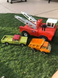 These Old Metal Tonka Trucks : Nostalgia