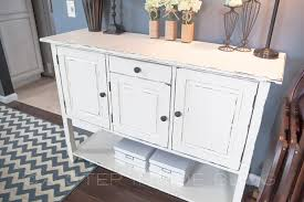 Diy Buffet Furniture Piece Re Do A Inside