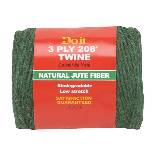 Do It Jute Garden Twine - Green, 208'