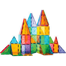 magna tiles clear colors 100 pc play matters toys