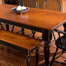 Cherry Dining Table Matching Bench By Devin Ulery