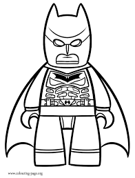 Epic Lego Coloring Pages Free 52 With Additional For Kids