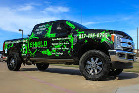 Black And Electric Green Truck Wrap For Advertising Cool Trucks ...