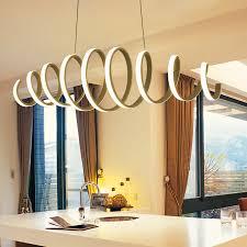 creative modern led pendant light aluminum acrylic ceiling