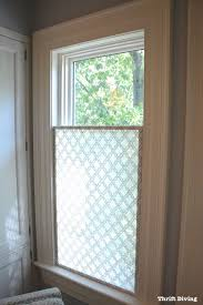 Light Filtering Privacy Curtains by How To Make A Pretty Diy Window Privacy Screen Bathroom Windows