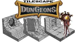 3d Printed Dungeon Tiles by 3d Printed Tilescape Dungeons Modular Terrain Sample Pack By