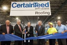 Certainteed Ceiling Tile Distributors by Certainteed Roofing Opens State Of The Art Manufacturing Facility
