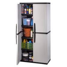 Sterilite 4 Shelf Cabinet by Amazon Com Hdx 35 In W 4 Shelf Plastic Multi Purpose Tall