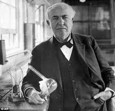 who invented the light bulb edison began work on the