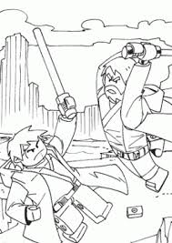 Lego Star Wars Coloring Page For Girls Printable Free