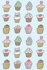 Download Cupcakes Pattern Download Wallpaper iPhone 4 4S 640x960