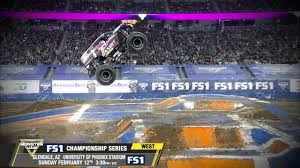 Monster Jam In Glendale - Sunday February 12th On FS1 - YouTube Image Monsterjamminneapolis2013114jpg Monster Trucks Wiki Jam San Jose Tickets Na At Levis Stadium 20170422 The Color Run Weekend In Truck Show Phoenix Az And At University Of Youtube Photos Gndale Arizona February 3 2018 Jester Wraps Up Championship Series 1 Review Angel Of Anaheim Macaroni Kid Ticket Giveaway January 24 2015 Brie John Holly Baby Jake Grave Digger Freestyle From Az How To Make The Most Dmt Stone Crusher