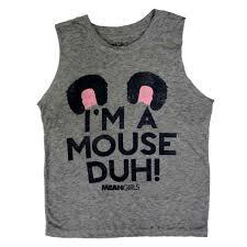 Halloween Maternity Shirts Walmart by Meangirls Womens I U0027m A Mouse Duh Halloween T Shirt Tank Top