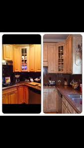 our kitchen renovation cabinets were done with rust oleum
