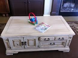 Distressed Furniture Coffee Table