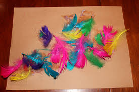 Kids Crafts Feathers