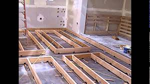 Floating Floor Underlayment Basement by Floating Floor Floating Floor Underlayment Youtube