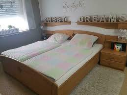 schlafzimmer komplett bett schrank kommode modern landhaus holz