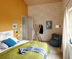 schlafzimmer passt gelb zur grauen wand farbe wohnen
