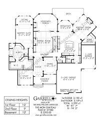 Chateau Floor Plans Mon Chateau 07386