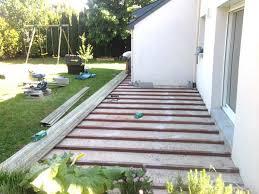 nivrem terrasse bois sur dalle beton sans lambourde