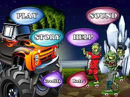 Monster Truck Zombie HD Free By Good Life App