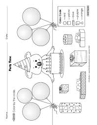 Shape Pictures To Colour Teojama City Coloring Pages