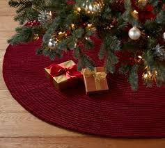 Channel Quilted Tree Skirts