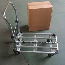 100 Flatbed Hand Truck China Manufacturing Premium Collapsible Aluminium Alloy Platform