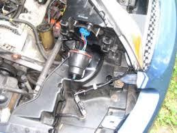 single dim headlight electrical problem 6 cyl front wheel drive