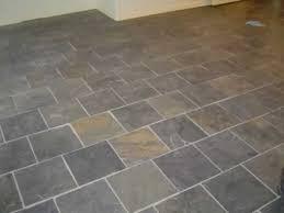black slate tile bathroom grey floor tiles for sale vs porcelain
