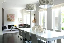 Dining Room Chandelier Drum Shade Lights For Magnificent Pendant Lighting In Decent Modern Table Din