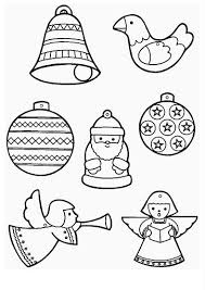 Christmas Ornaments Coloring Pages And Sheets December 12 2014 Admin 0