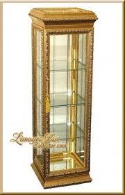 Pulaski Display Cabinet Vitrine by Gold Curio Cabinets Foter