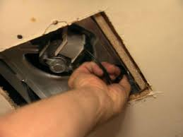 Bathroom Exhaust Fan Light Replacement by How To Replace An Exhaust Fan How Tos Diy