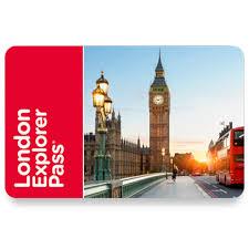 London Choose 4 Explorer Pass Adult Costco UK