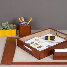 Leather Desk Blotters And Accessories by Desk Blotters Decor Ideas U2014 The Wooden Houses