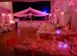 salle de fete decoration salle de fete pour mariage le mariage