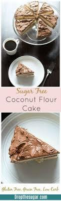sugar free coconut flour cake