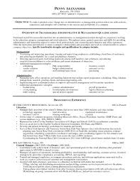 Executive Assistant Resume Skills New Sample For Administrative Of