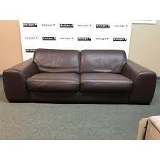 100 Roche Bobois Leather Sofa