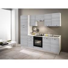 küchenzeile vale 250 cm eucalyptus weiß