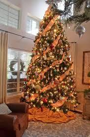 Orange Christmas Tree Decorations