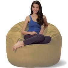 Fuf Chair Replacement Cover by Fufory Foam Bean Bag Chair Chairs For Adults Walmart Xl Big Joe