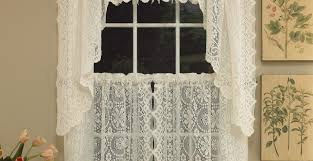 Waterfall Valance Curtain Set by Curtains Platinum Voile Flowing Sheer Waterfall Valance Stunning