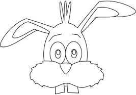 Bunny Face Coloring Pictures Drawing Books
