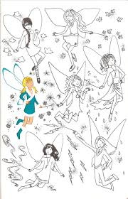 Printable Rainbow Magic Coloring Pages With Fairy Inside Glum