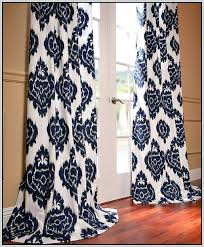 Geometric Pattern Curtains Canada by Navy Patterned Curtains Navy Blue Geometric Curtain Panels Navy