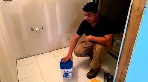 Blue Hawk Premixed Vinyl Tile Grout Directions by How To Apply Ready Mixed Grout Youtube