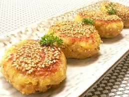 Japanese Pumpkin Croquette Recipe by Sweet Potato Croquettes Japanese Recipe Shizuoka Gourmet
